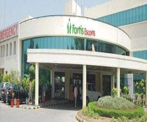 Fortis Escorts Hospital Faridabad